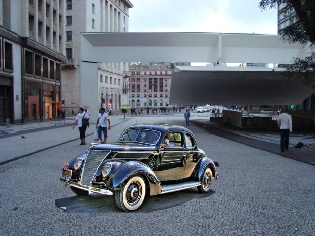 Du Street art 3D par Eduardo Kobra
