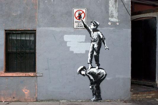 Banksy - NYC