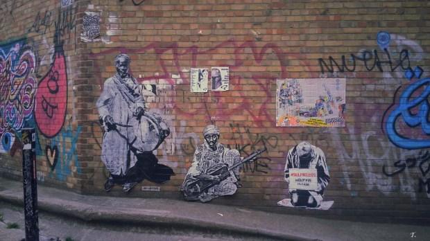 Jef Aerosol - Bricklane - Londres