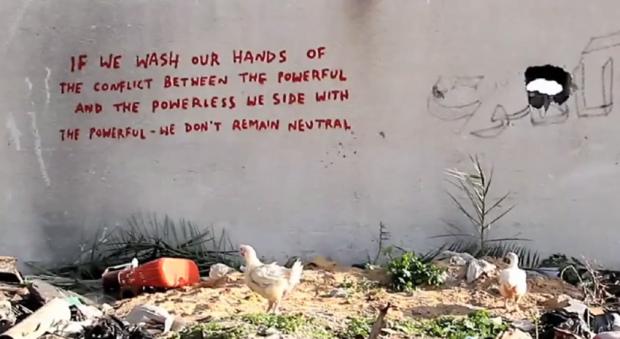 Sentence - Banksy @ Gaza