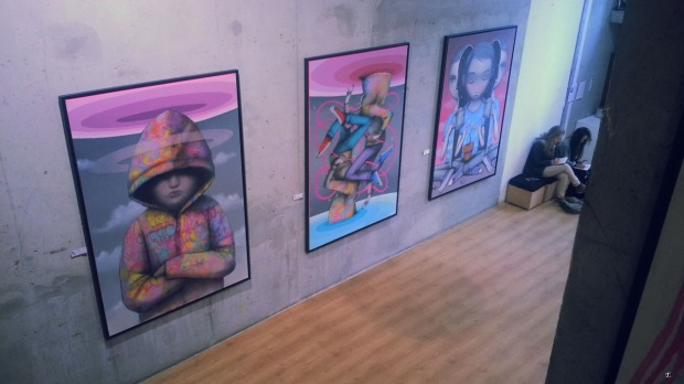 Seth @ la Galerie Itinerrance