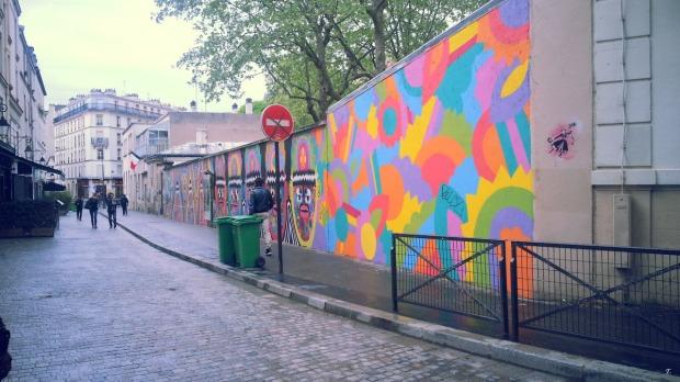Mural - Butte aux Cailles