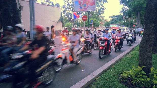 Motos only - Saigon