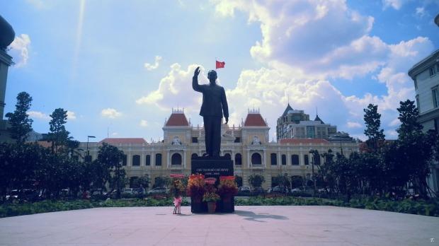 Place de la Mairie - Saigon