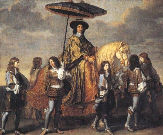 Charles Le Brun, Le Chancelier Séguier, chancelier de France, 1660, huile sur toile, 295 x 357 cm