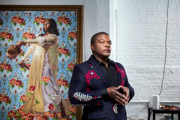 portrait-Kehinde Wiley