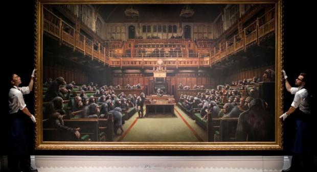 Le Parlement des Singes - Banksy